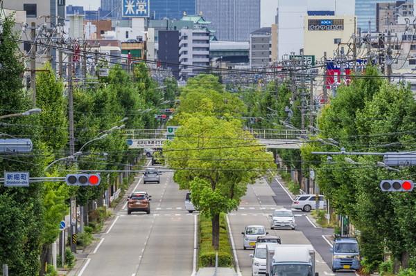 幹線道路の騒音のイメージ