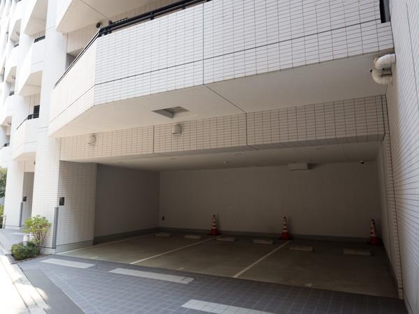 マンションの駐車場のイメージ