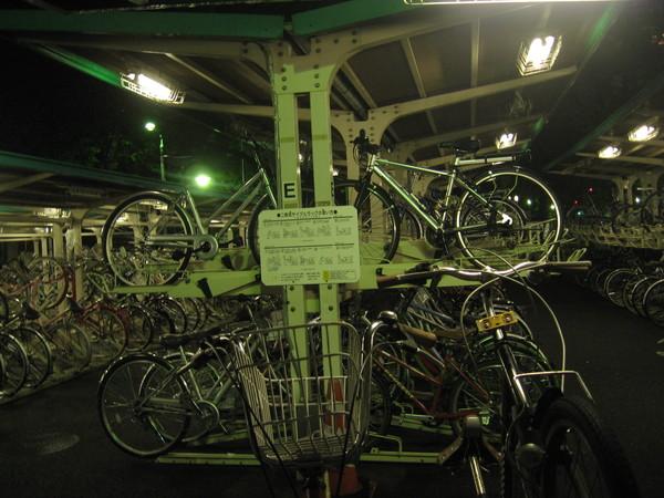 駐輪場のイメージ